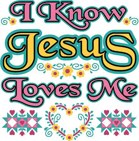 Jesus Loves Me T-shirt Transfers 12pc