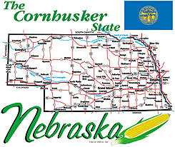 Nebraska T-shirt Transfers 12pc