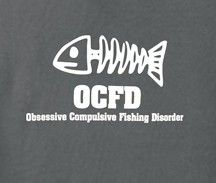 Fishing T-shirt Transfers 12pc
