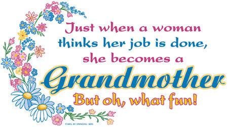 Grandmother T-shirt Transfers 12pc