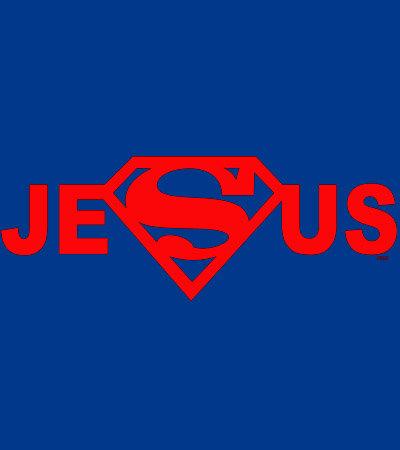 Super Jesus T-shirt Transfers 12pc