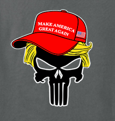 Trump Skull Transfers 12pc