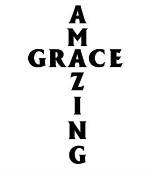 Amazing Grace T-shirt Transfers 12pc