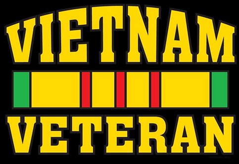 Vietnam Veteran T-shirt Transfers 12pc