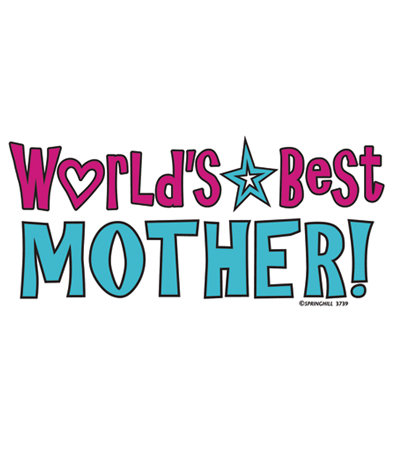 World's Best Mother T-shirt Transfers 12pc
