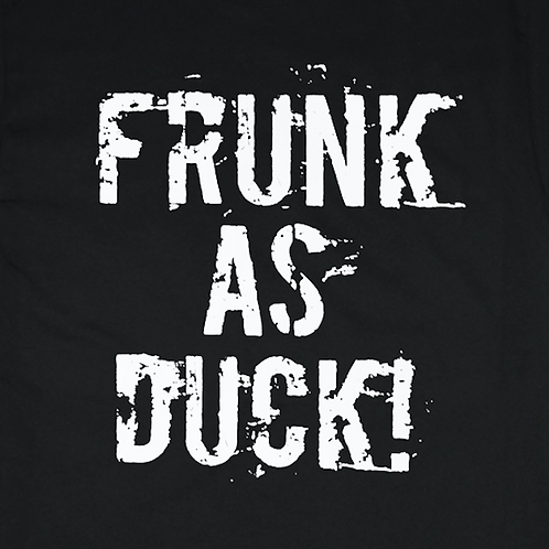 Funny Frunk as Duck T-shirt Transfers 12pc