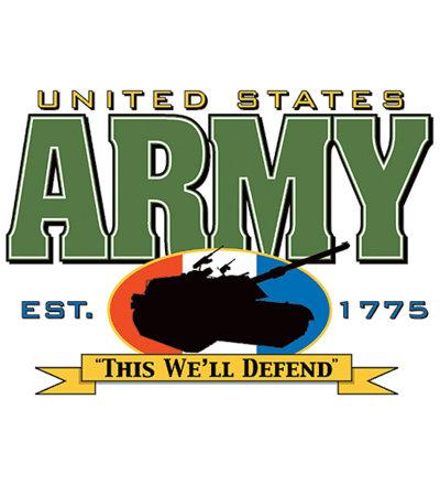 Army T-shirt Transfers 12pc