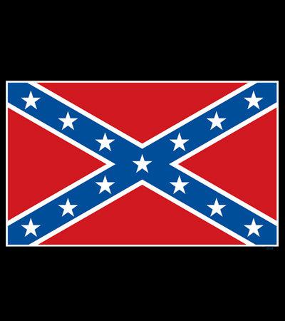 Confederate Flag T-shirt Transfers 12pc