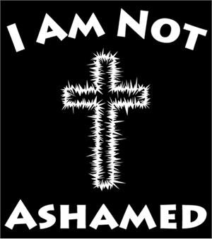 I Am Not Ashamed T-shirt Transfers 12pc