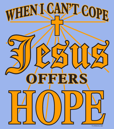 Jesus Offers Hope T-shirt Transfers 12pc