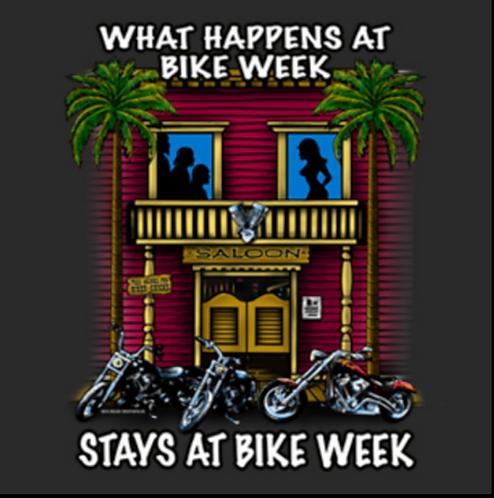 Bike Week T-shirt Transfers 12pc