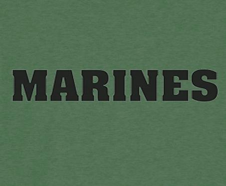 Marines T-shirt Transfers 12pc