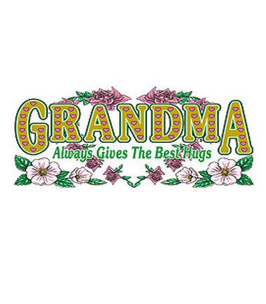 Grandma T-shirt Transfers 12pc