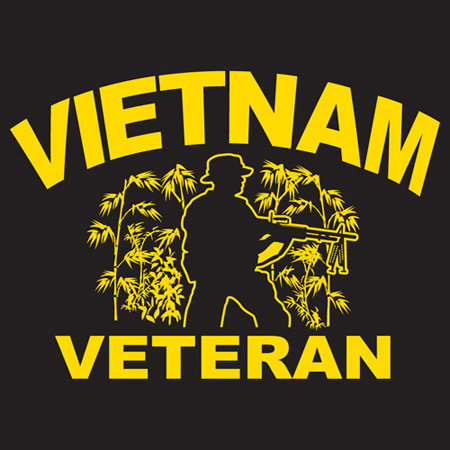 Vietnam Veteran T-shirt Transfers 12pc