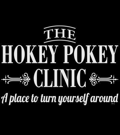 Hokey Pokey Funny T-shirt Transfers 12pc