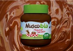 Organikus mogyorós csokoládékrém
