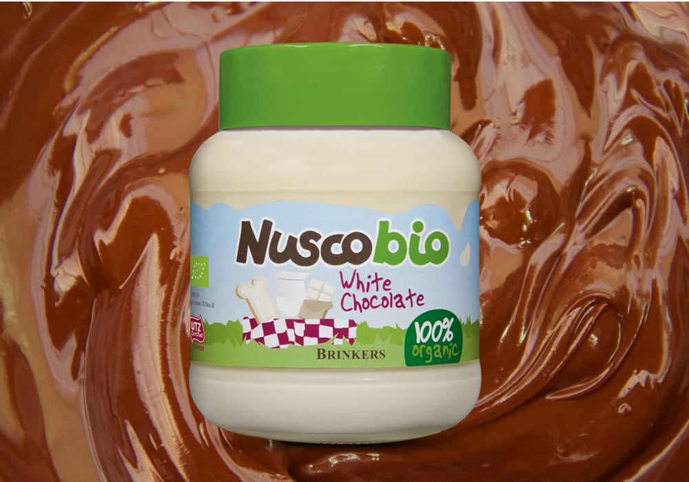 Organikus fehércsokoládé-krém