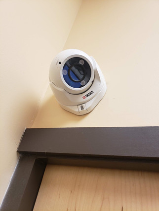 Security Camera Install in Popeyes