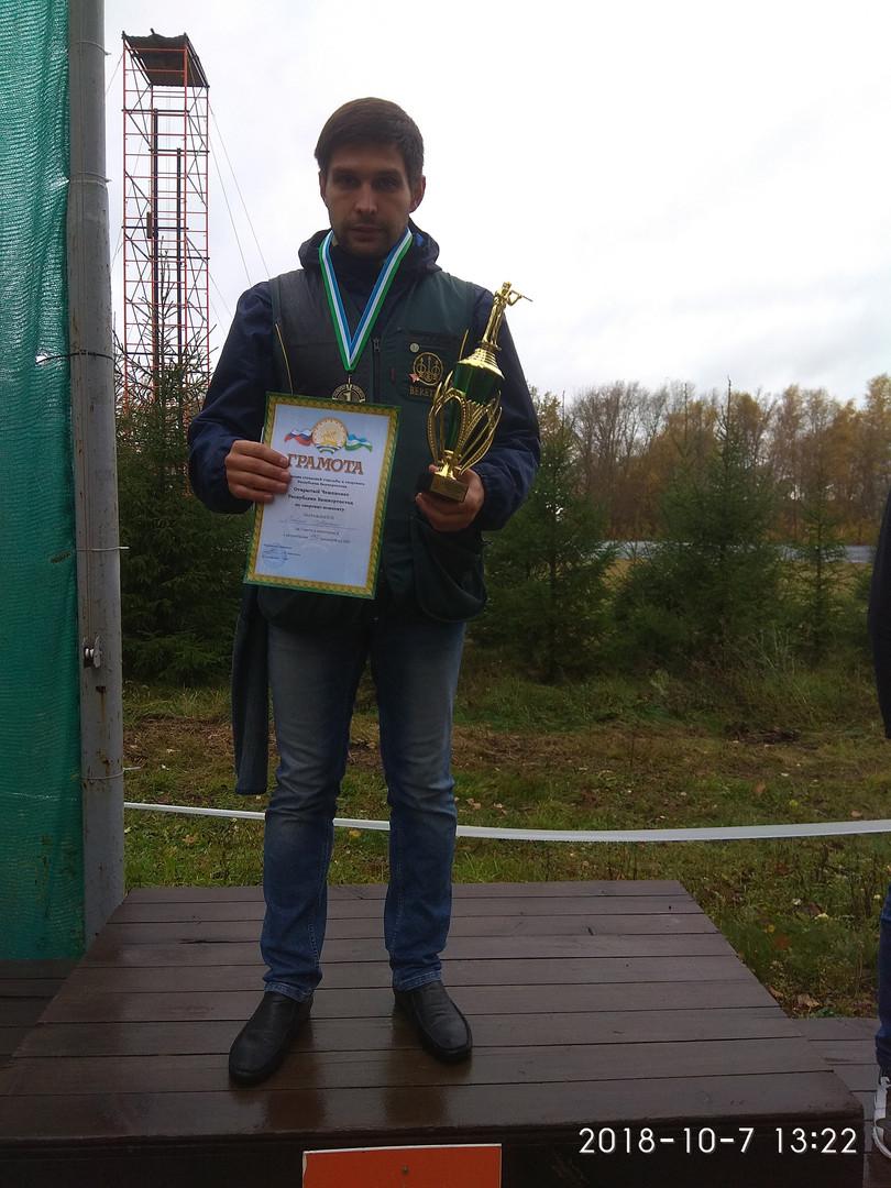 1-е место Олейник Максим