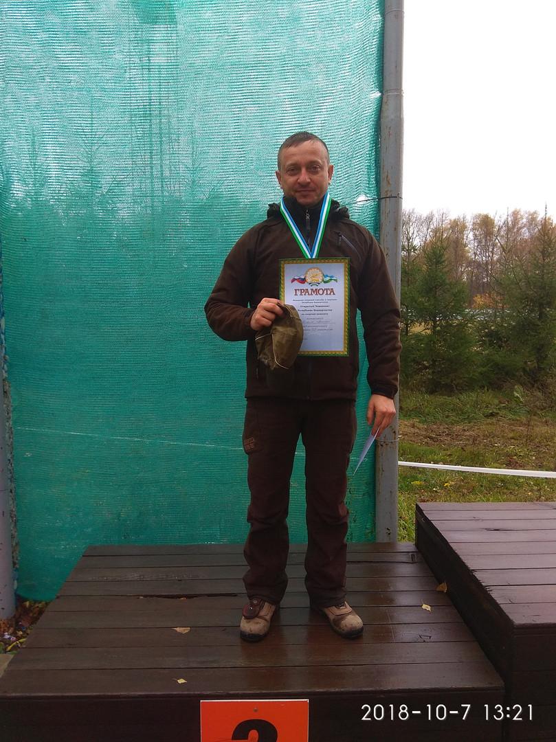2-е место Поляков Виталий