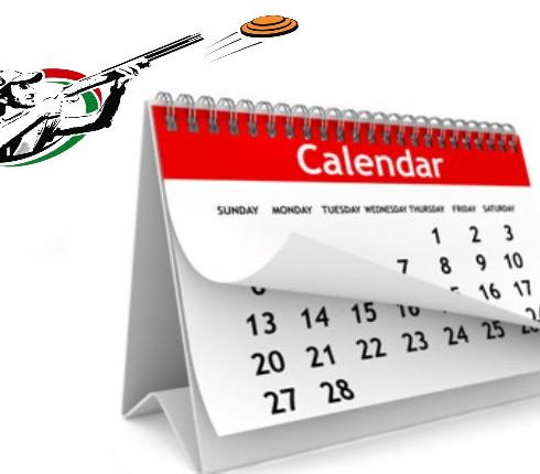 Календарь соревнований на 2021 год.