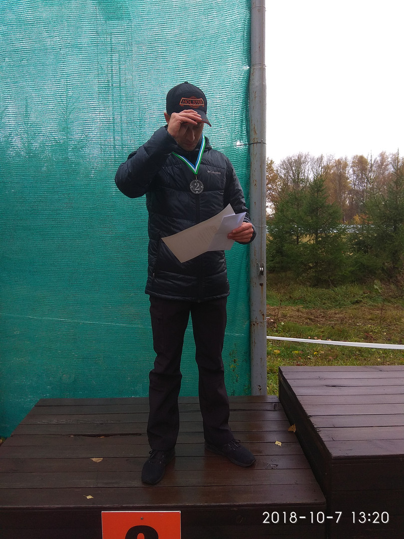 2-е место - Родионов Дмитрий