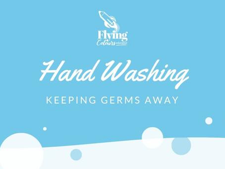Making hand washing fun!
