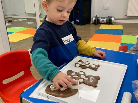 The wonders of play-dough: Creativity, Resilience & Learning