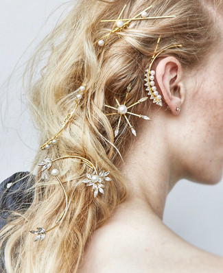 OMG! I found the holy grail of hair bridal accessories!