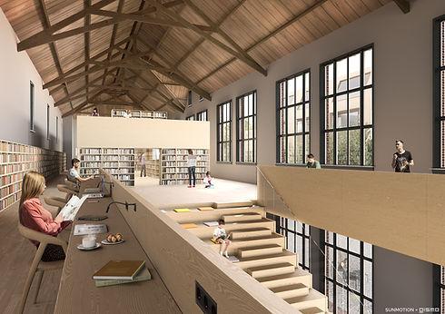 Schoolkwartier Waalwijk interior - met l