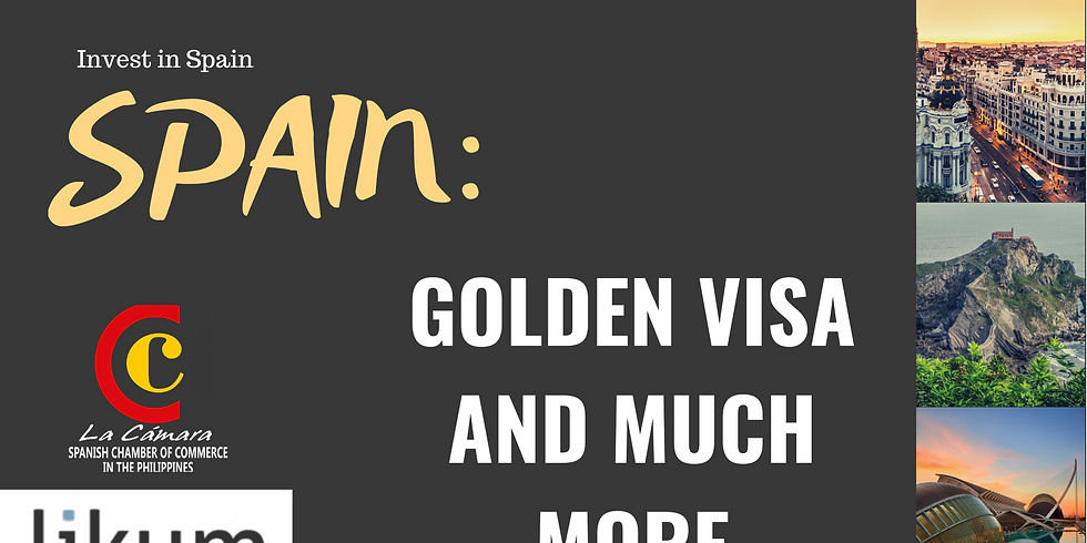 Invest in Spain: Golden Visa and more