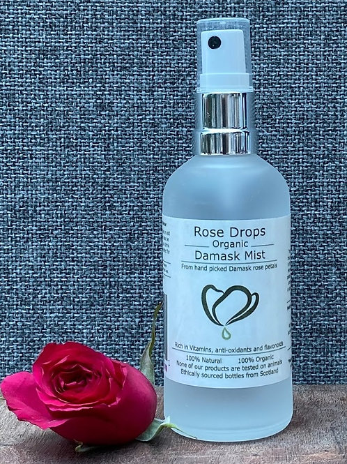 Rosedrops Damask Rosewater Mist - 100ml