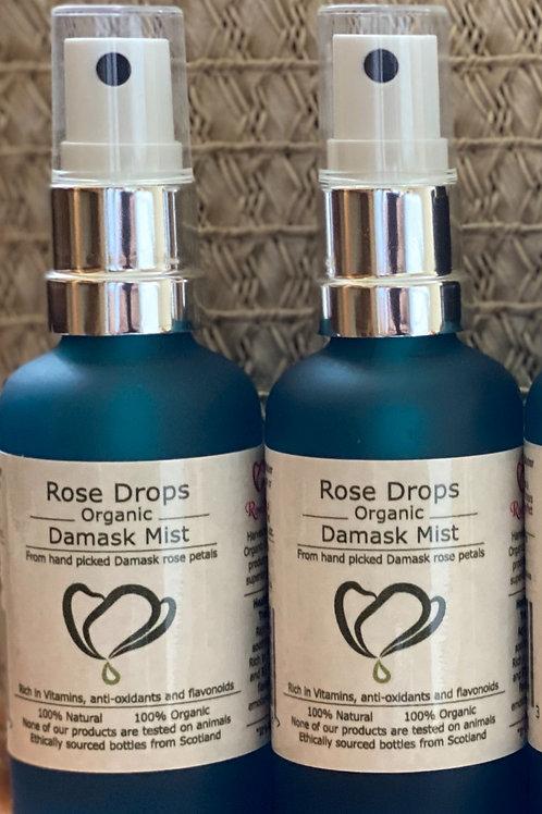 Rosedrops Damask Rosewater Mist - 50ml