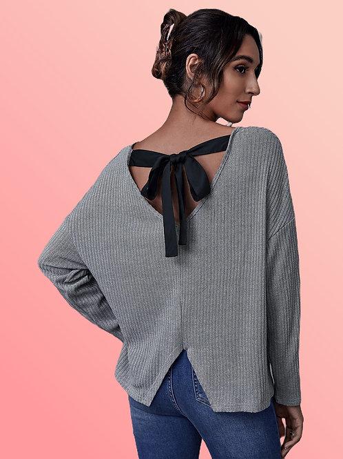 Tie Back Long Sleeve