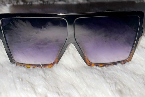 Bad Gal Purple Lens Shades