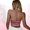 Thumbnail: Pink Satin Halter Top