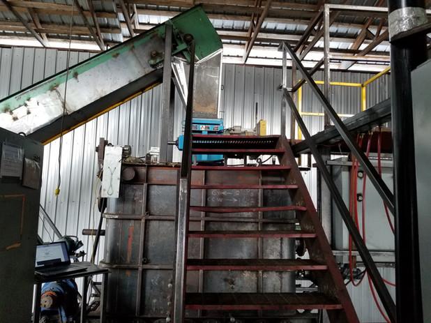 Biomass to carbonizer