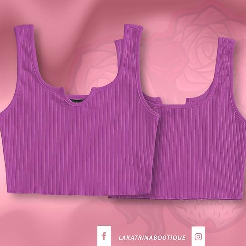 Lilac Lady Crop Top