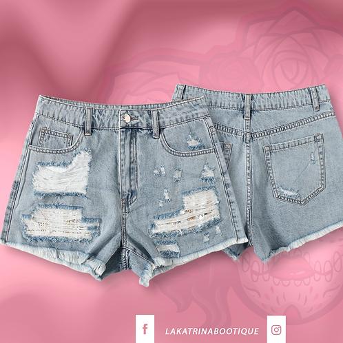 Sunflower Babe Denim Shorts