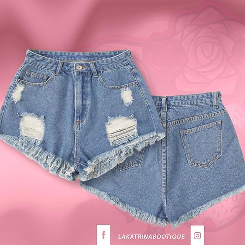 Summer Daisy Denim Shorts