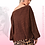 Thumbnail: Drop Shoulder Lantern Sleeve Blouse