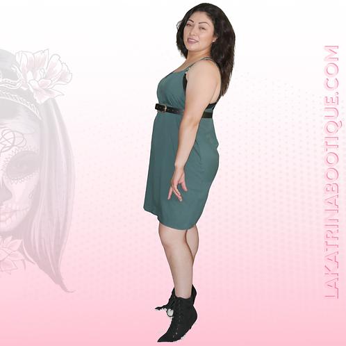 Green Gal Cami Dress