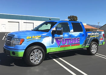Truck Wrap Graphics
