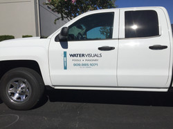 truck lettering visual