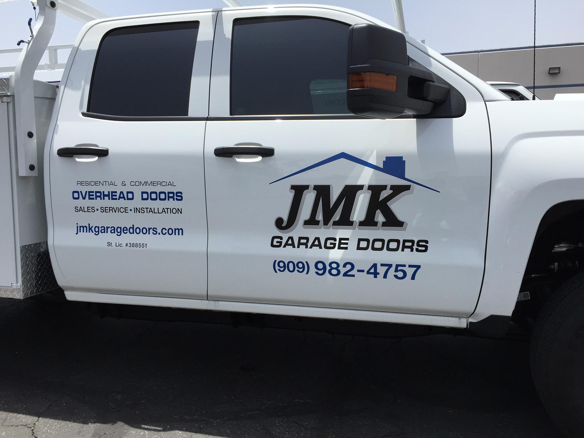 truck lettering jmk