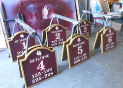 Residential Building Signs