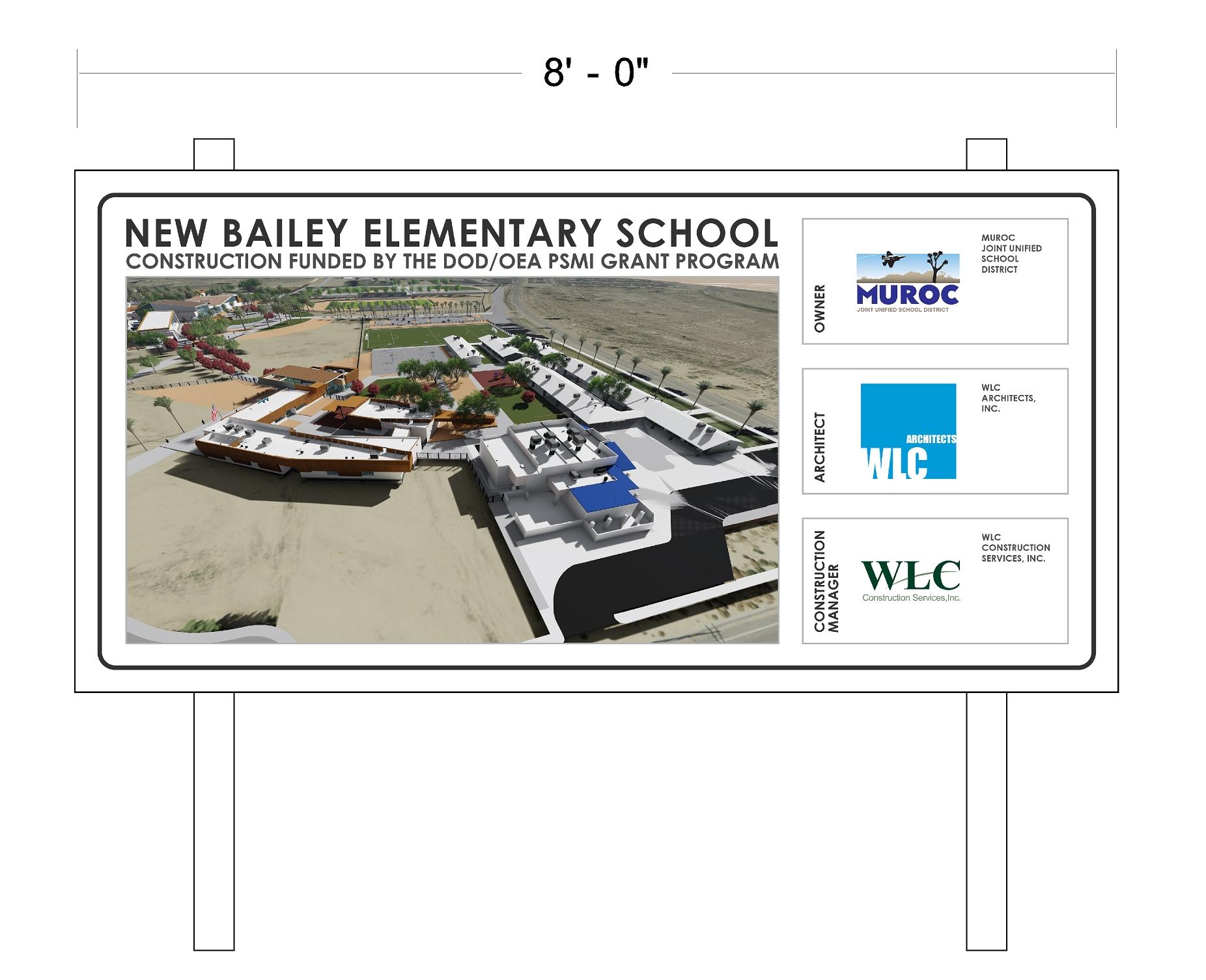 Bailey ES Construction Sign Sample