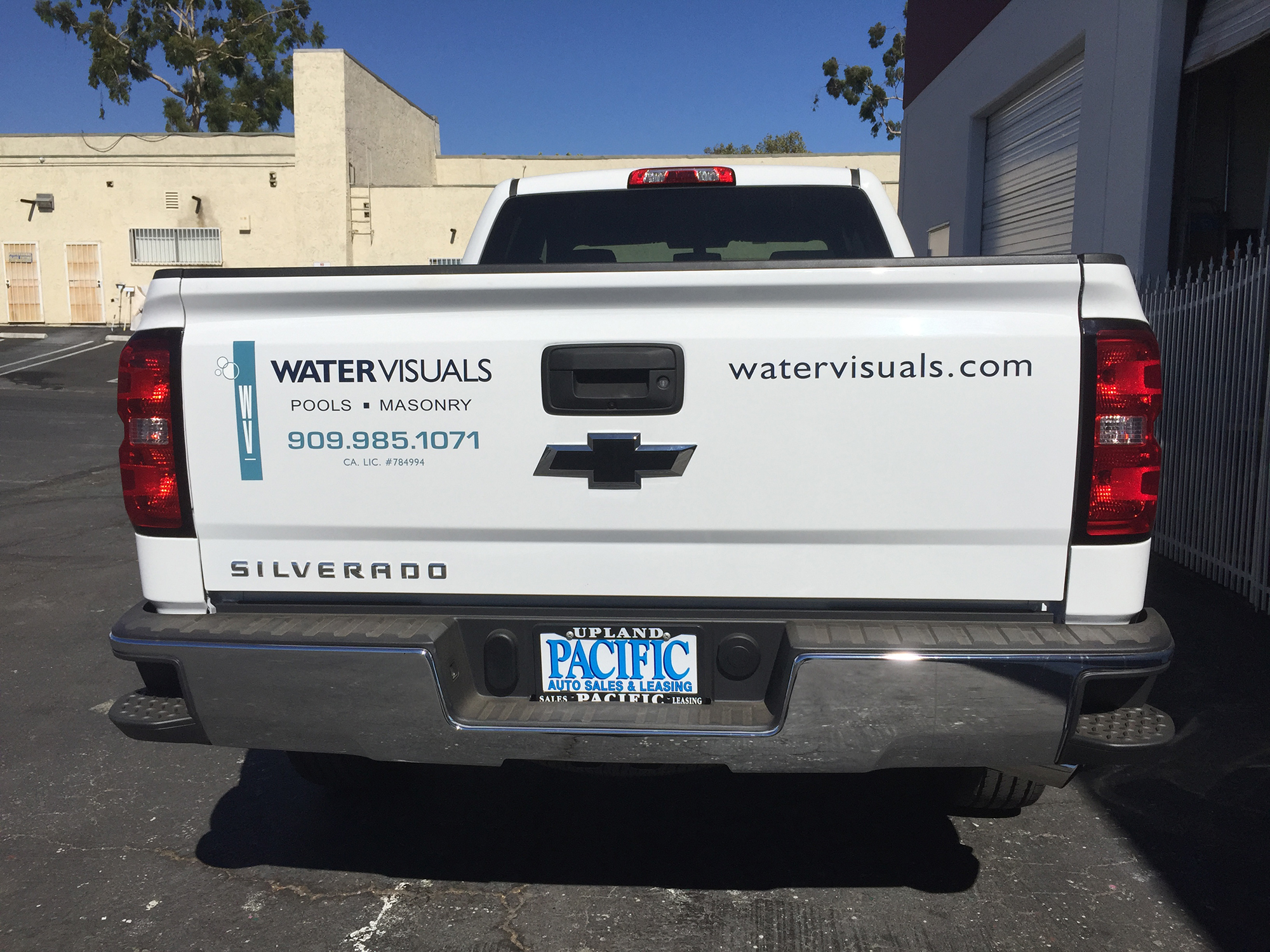 truck lettering visual tg