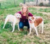 Kimberly Hawk- Dogs Deserve Better Blue