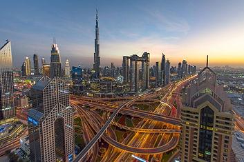 Burj Khalifa - panorama - Dubaï - Emirat